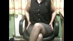 Great mature wife plays