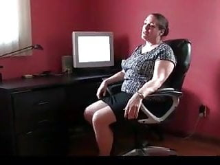 Busty office mature Office mature plays