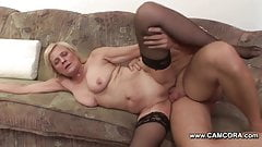 Mom get fucked by young boy when Dad ist not at home