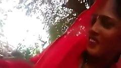 Shy Newly Married Bhabhi Blowjob Dewar In Khet