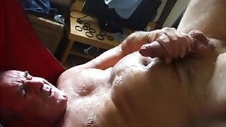 cumming in sling