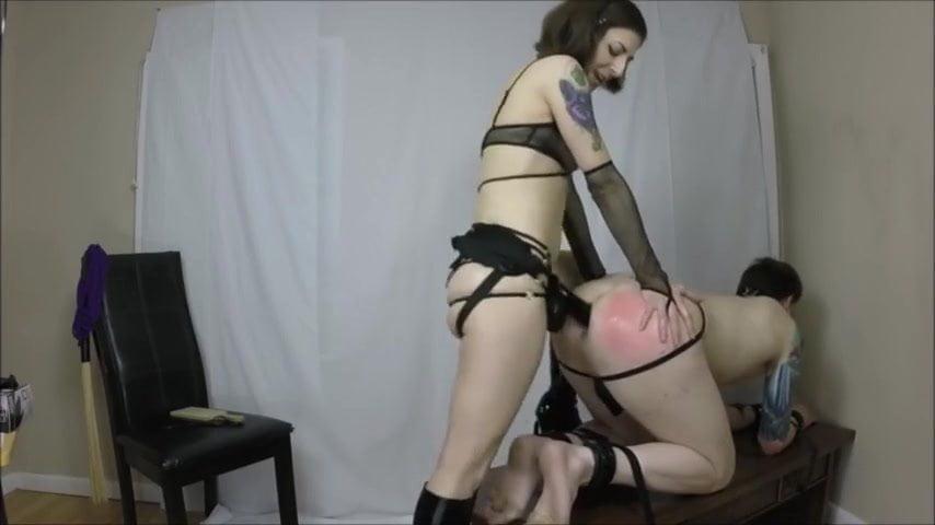 Porn Chastity Pegging