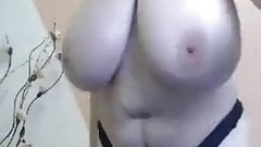 Mi abuela tetona por webcam