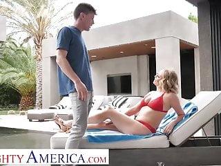 Coming to america movie bikini girls Naughty america - elle mcrae fucks sons friend poolside