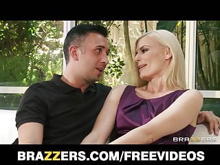 Rough sex anal Brazzers - lonely blond wife calls a friend for rough-sex