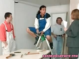 Hot sex videos clips archive - Gangbang archive hot blonde nailed by 6 construction workers