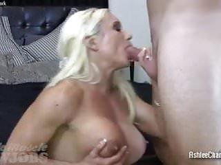 Muscle goddess nude Muscle goddess ashlee chambers sucking cock