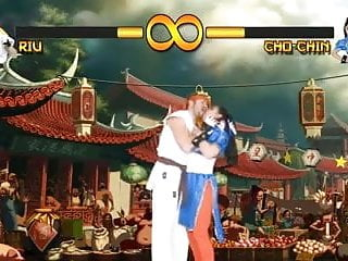 Chun-li adult game - Ryu vs chun li