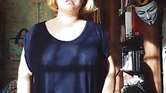 bbw trying clothes