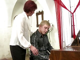 Naked saxophone players Mature mom fucks young piano player boy