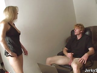 Old women handjob videos Moms laptop for not her sons cock