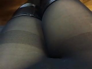 Babe in knee boots anal Emma sure knee boots
