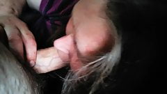 Deep throat blowjob