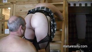 Secret play in the cabin hideaway
