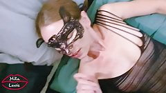 Sexy Hotwife Sucking Dick And Getting a Huge Facial