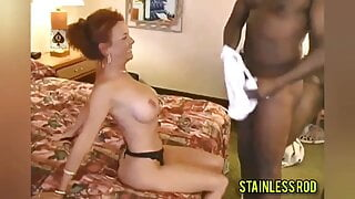 MrsJ Cuckolds Husband By Taking 2 BBC in Vacation Hotel Room