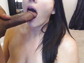 Love to watch husband suck dick Hot milf loves sucking husband black dick