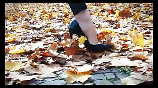 Louboutin High Heels So Kate Dangling & Walking.