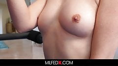 Horny Milf Takes A Yoga Class To Fuck The Instructor