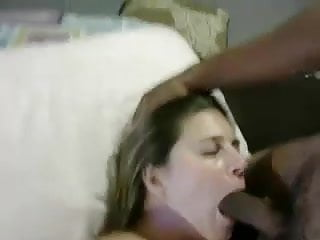 Husband watches wife strip - Husband watches wife get a mouthfull