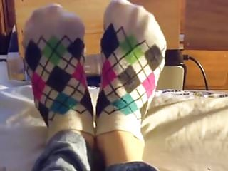 Socks cute fucking Cute ankle socks removal