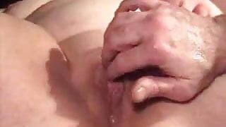 multiple squirt orgasms with analdildo