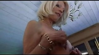 FRENCH MATURE n52b 2 anal grannies step moms with 2 younger men