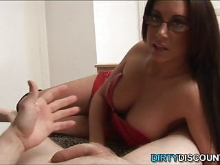 Jerking bdsm Jizz domina bite and jerk