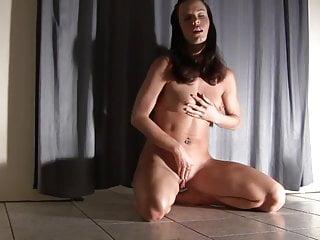 Gymnast young girl porno - Gorgeous gymnast rides a dildo