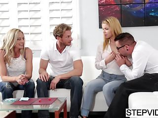 Spanked by relatives - Horny relatives sharing and caring