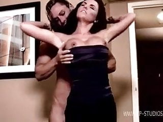 Tall muscular women domination tube Muscular women with kate beckinsale look alike girl