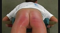 A harsh caning
