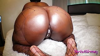 Fat Booty BBW Gets Thick Creampie In Lockdown