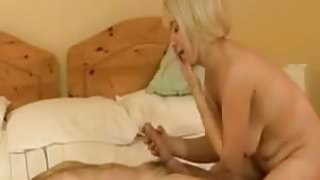 StepMom have fun with younger boy