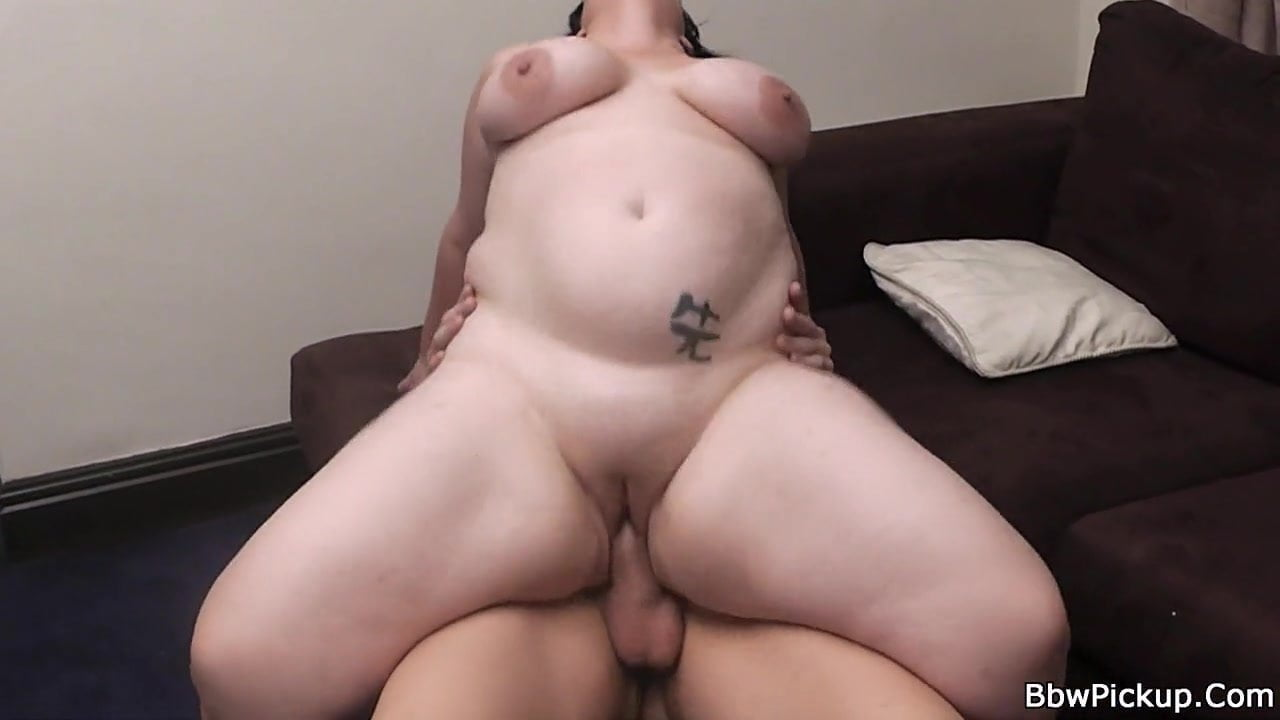 Chubby bbw goth slut gives blowjob and rides dick with buttplug in til he cums tnaflix porn pics