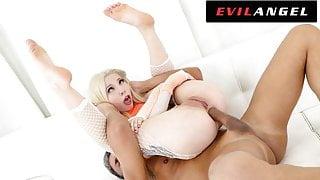 EvilAngel - Kenzie Reeves Upside Down Anal Fuck & Facial