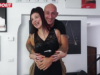 Sexy italian banged - Letsdoeit - sexy italian milf first anal casting
