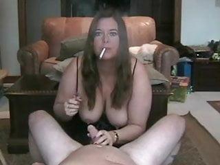 Mature smoking vids Hot curvy mature smoking bj