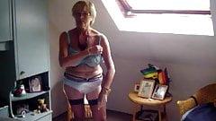 Blonde granny 6