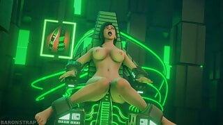 Tifa Lockhart, Machine Fuck