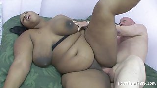 Busty bbw is getting rammed from behind.mp4