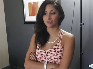To produce sperm Real casting babe bounces on producers dick