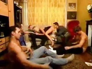 Gangbang 1 girl cocks Groupfuck with 5 guys an 1 girl 01