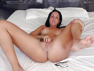Hot sex from young theen Hot brunette likes sex from behind
