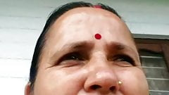 Aunty watching me jerking off part 10