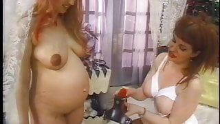 pregnant in lesbian action