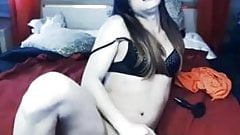nice tranny cum and swallow