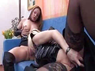 Lesbian mature cougars Heavy pierced lesbian milfs with rings in pussy and nipples