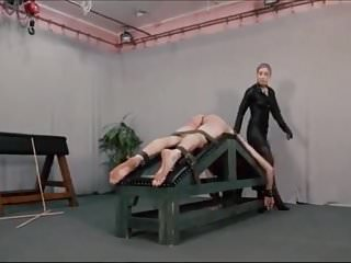 Gay sadists - Extreme caning by sadistic woman