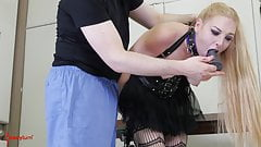 Hot BDSM whore gets hard anal punishment with ass to mouth